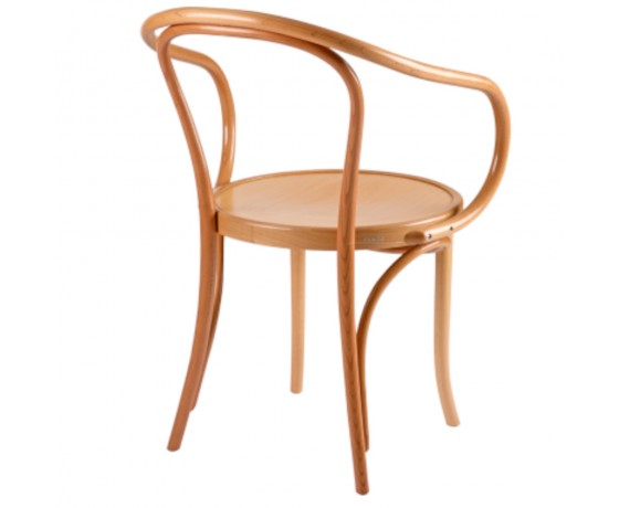 Bent Armchair Natural