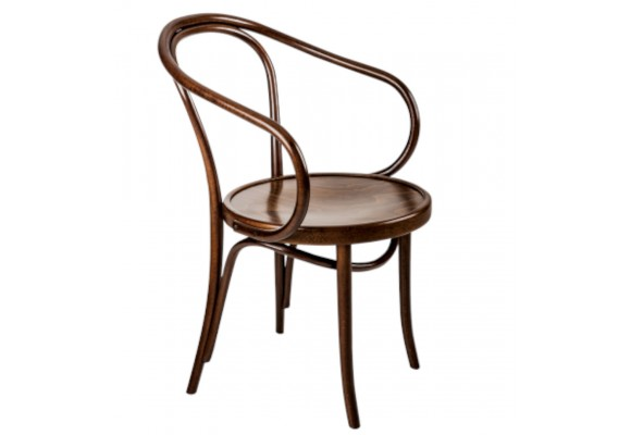 Bent Armchair Stained