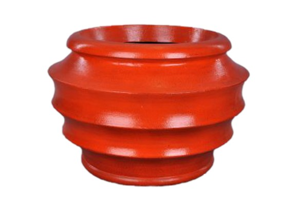 Orange Urn - 030