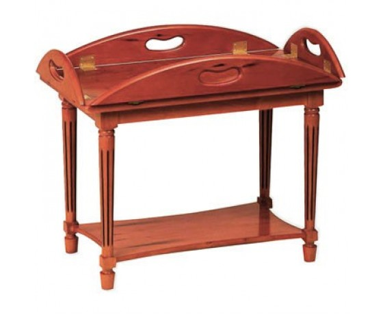 Coffee Table Height Butlers Tray