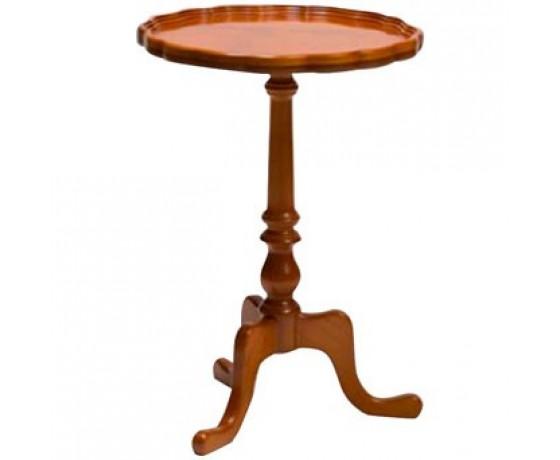 Pie Crust Wine Side Table