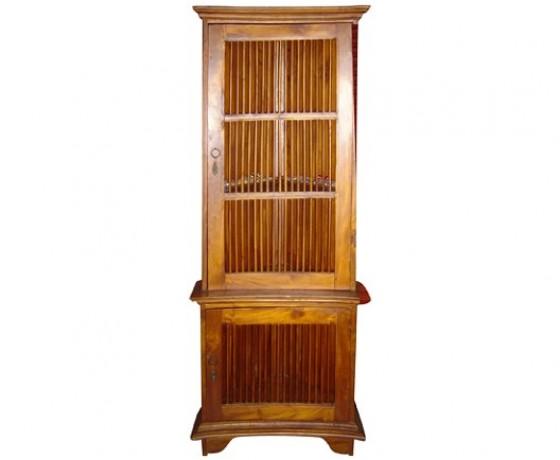 Trellis Display Cabinet