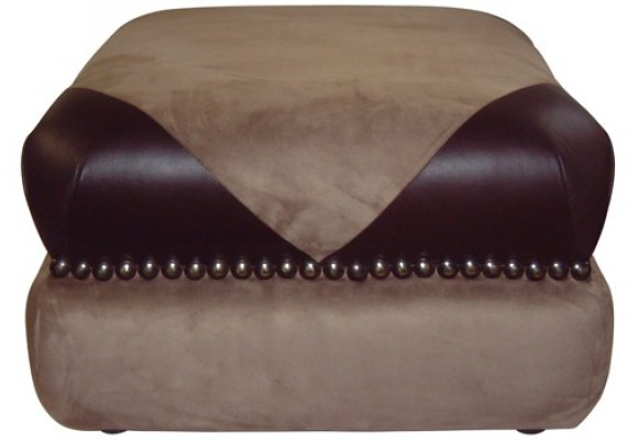 Rounded Pouffe
