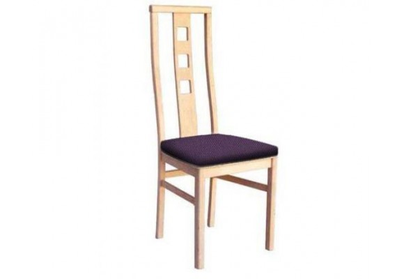Simplistic high back dining room chair